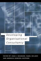 Developing Organisational Consultancy PDF