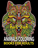 Animals Coloring Books For Adults