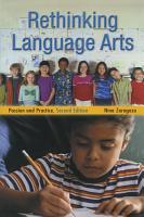 Rethinking Language Arts PDF