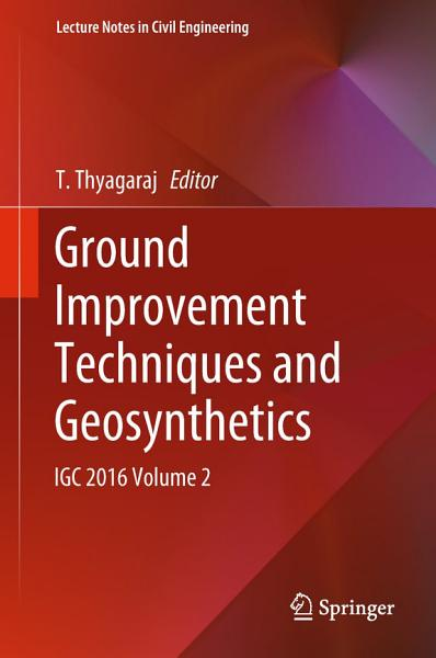 Ground Improvement Techniques and Geosynthetics PDF