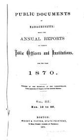 Public Documents of Massachusetts: Volume 3