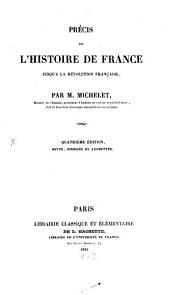 Précis de l'histoire de France jusqu'à la Révolution Française