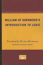 William of Sherwood's Introduction to Logic