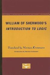 William Of Sherwood S Introduction To Logic Book PDF