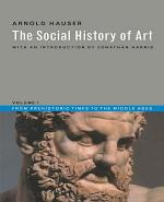 The Social History of Art: From prehistoric times to the Middle Ages