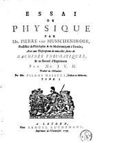 Essai de physique: Volume1
