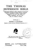 The Thomas Jefferson Bible