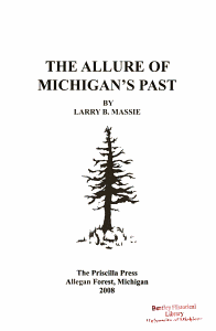 The Allure of Michigan s Past PDF