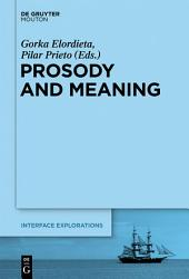 Prosody and Meaning