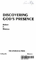 Discovering God s Presence PDF