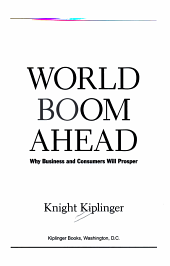 World Boom Ahead