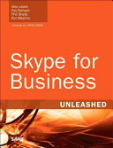 Skype for Business Unleashed PDF
