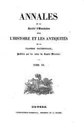 Annales de la Sociéte d'émulation pour l'histoire et les antiquités de la Flandre occidentale