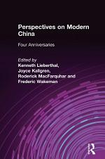 Perspectives on Modern China: Four Anniversaries