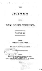 The Works of the Rev. John Wesley: Volume 11