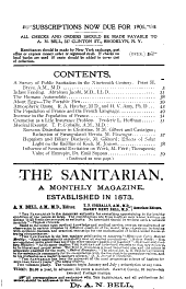The Sanitarian: Volume 46