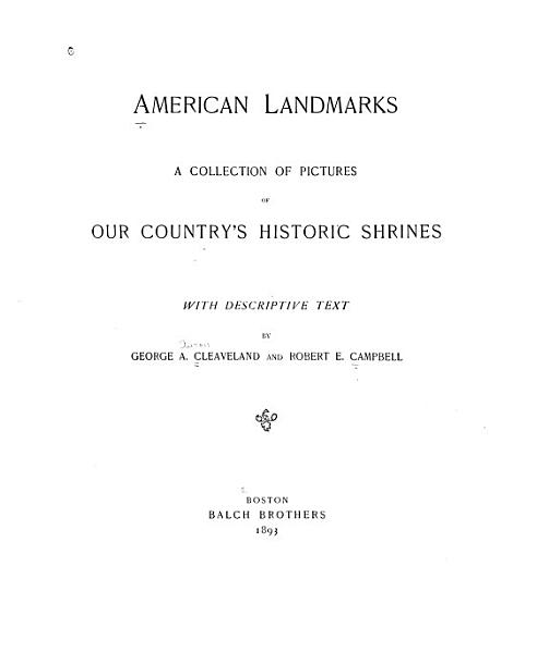 Download American Landmarks Book