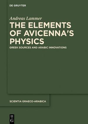 The Elements of Avicenna's Physics