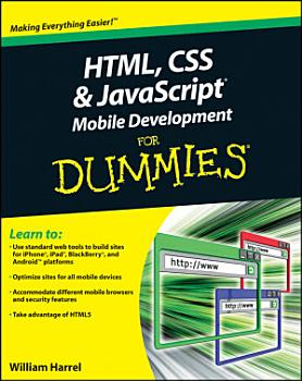 HTML  CSS  and JavaScript Mobile Development For Dummies PDF