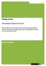 Trendsport Beach Soccer PDF