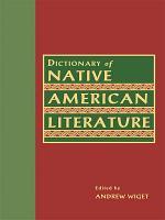 Dictionary of Native American Literature PDF