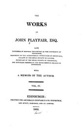 The works of John Playfair ...: with a memoir of the author ..., Volume 4