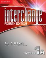 Interchange Level 1 Workbook A PDF