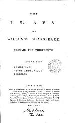 The Plays of William Shakspeare. In Fifteen Volumes