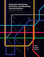 Integrated Advertising  Promotion  and Marketing Communications  Canadian Edition  PDF