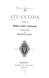 La Atlantida: poema de Mossen Jacinto Verdaguer