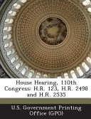 House Hearing  110th Congress PDF