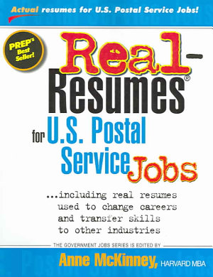 Real Resumes For U S  Postal Service Jobs