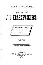 Wybór pism J. I. Kraszewskiego: Starościna bełska