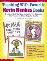 Teaching with Favorite Kevin Henkes Books PDF