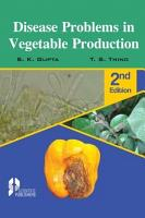 Disease Problems in Vegetable Production  2nd Ed  PDF