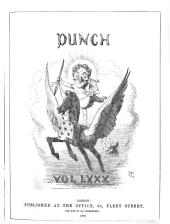 Punch: Volumes 80-81