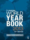 The Europa World Year: International organizations ; Afghanistan-Jordan