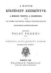 ¬A magyar költészet kézikönyve a Mohácsi vésztöl a jelenkorig0: 3. kötet
