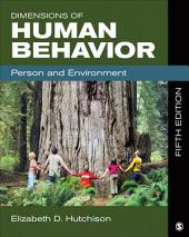 Dimensions of Human Behavior: Person and Environment, Edition 5