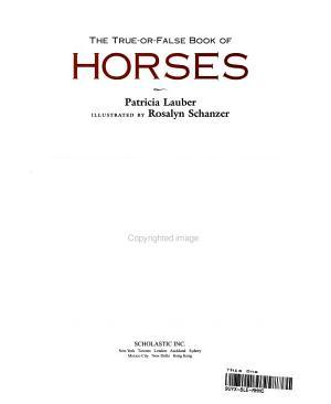 The True or false Book of Horses