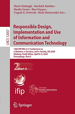 Responsible Design  Implementation and Use of Information and Communication Technology