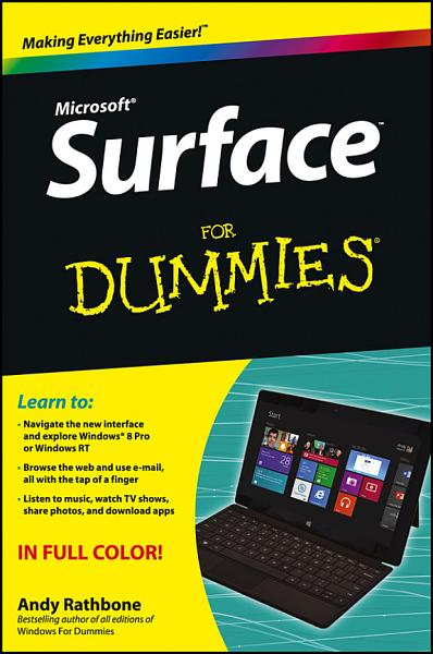 Download Surface For Dummies Book