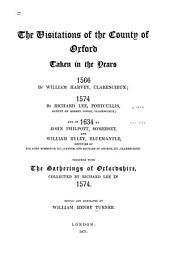 The Visitations of the County of Oxford Taken in the Years 1566: Volume 5