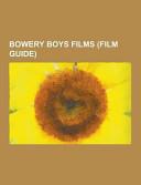 Bowery Boys Films PDF