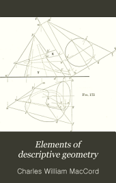 Elements of Descriptive Geometry: With Applications to Isometrical Drawing and Cavalier Projection