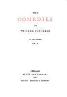The Comedies of William Congreve PDF