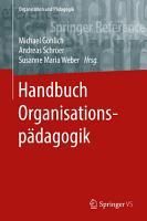 Handbuch Organisationsp  dagogik PDF