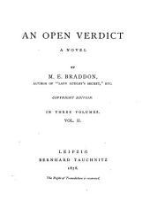 An Open Verdict: A Novel, Volume 2