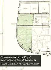 Transactions of the Royal Institution of Naval Architects: Volume 18