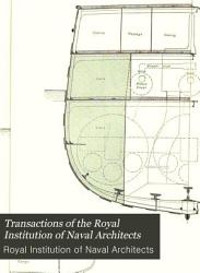 Transactions Of The Royal Institution Of Naval Architects Book PDF